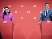 SPD-Präsidiumssitzung