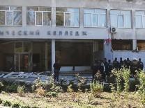 Explosion an einer Berufsschule auf der Krim
