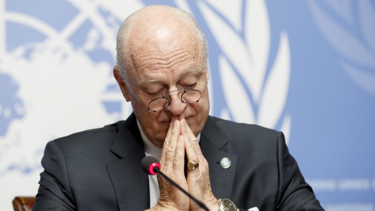 UN-Syriengesandter tritt zurück