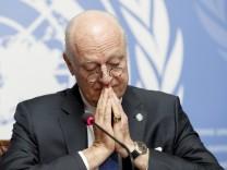 Der UN-Gesandte für Syrien Staffan de Mistura