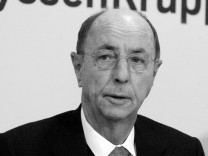 Berthold Leibinger gestorben