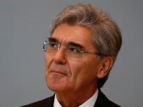 Siemens CEO Kaeser attends Russian Energy Week forum in Moscow