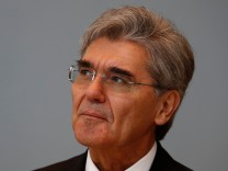 Siemens CEO Kaeser attends Russian Energy Week forum in Moscow