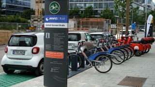 Mobilitätsstationen in München eröffnet, 2018
