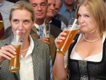 ***BESTPIX*** Bavaria Holds State Elections; Weidel / Ebner-Steiner