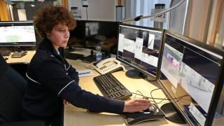 Videobeobachtung durch die Polizei in Essen