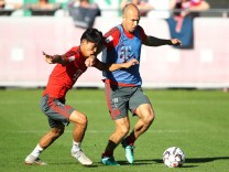 FC Bayern: Arjen Robben im Training