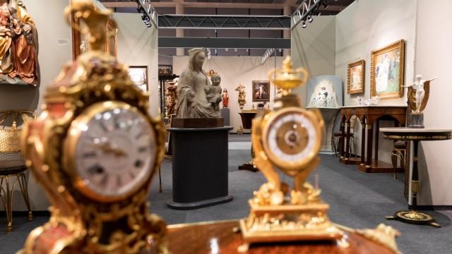 Kunst & Antiquitäten München in der kleinen Olympiahalle, München am 17.10.2018.