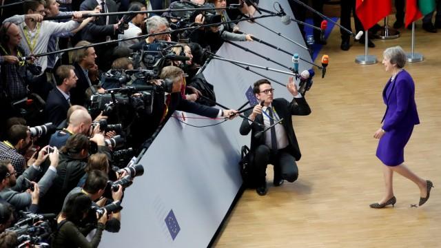 EU Gipfel Brexit May