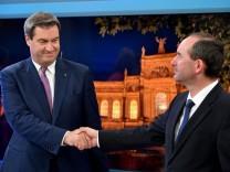 Landtagswahl Bayern - ZDF-Runde