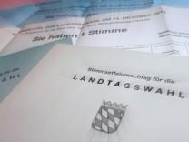 Bayern: Briefwahlunterlagen