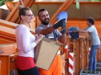 Wertstoffhof Recycling statt Reparatur