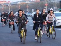 China's bike-sharing users peddled 30 billion km in 2017
