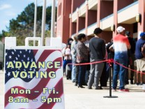 Early Voting Begins In Georgia's Gubernatorial Election