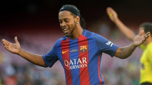 June 30th 2017 Camp Nou Barcelona Spain Friendly Football Match FC Barcelona Barca versus Manch