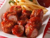Nur für Das Rezept Currywurst mit Sauce von Raimund Ostendorp