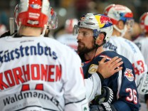 Ice hockey Eishockey DEL RB Muenchen vs Schwenningen MUNICH GERMANY 18 OCT 18 ICE HOCKEY DEL