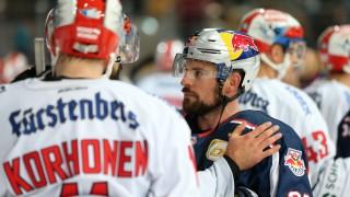 Ice hockey Eishockey DEL RB Muenchen vs Schwenningen MUNICH GERMANY 18 OCT 18 ICE HOCKEY DEL