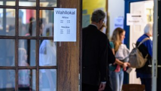 Landtagswahl Bayern - Stimmabgabe
