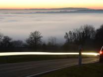 Inversionswetterlage am Bodensee