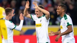Bundesliga: Hofmann schießt Gladbach auf Rang zwei