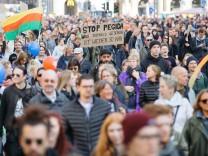 """Dresden: Demonstration """"Herz statt Hetze"""""""