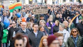 Demonstration gegen Rechts: Eine Stadt, zur Abwechslung mal unteilbar