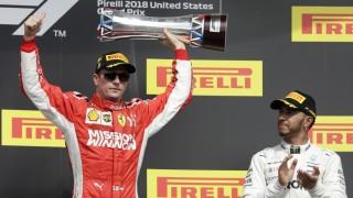 Formel 1 in den USA: Räikkönen siegt, Vettel kämpft, Hamilton muss warten