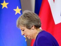 Theresa May auf dem EU-Gipfel in Brüssel