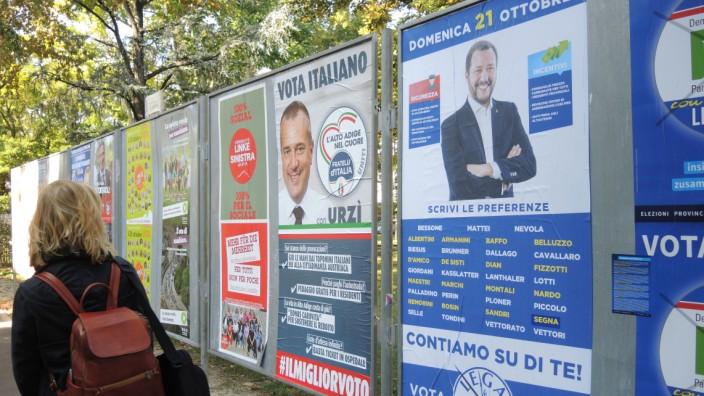 Landtagswahlkampf in Südtirol