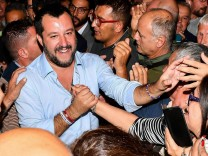 Matteo Salvini 2018 in Genua