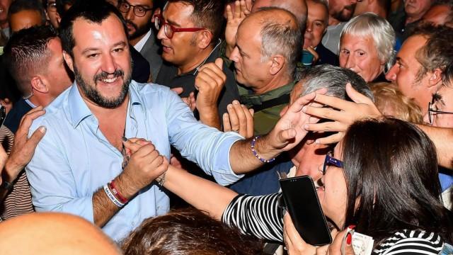 Matteo Salvini 2018 in Genua