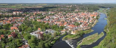 Grimma probt für den Hochwasserfall