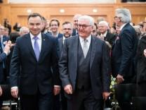 Polnischer Präsident Duda zu Besuch in Berlin