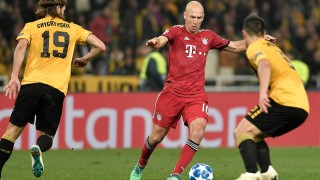 Champions League FC Bayern in Athen