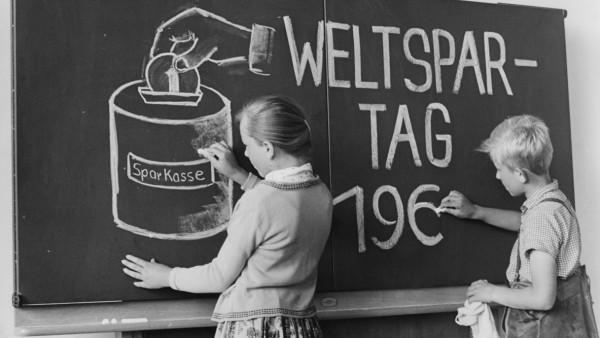 Weltspartag, 60er Jahre