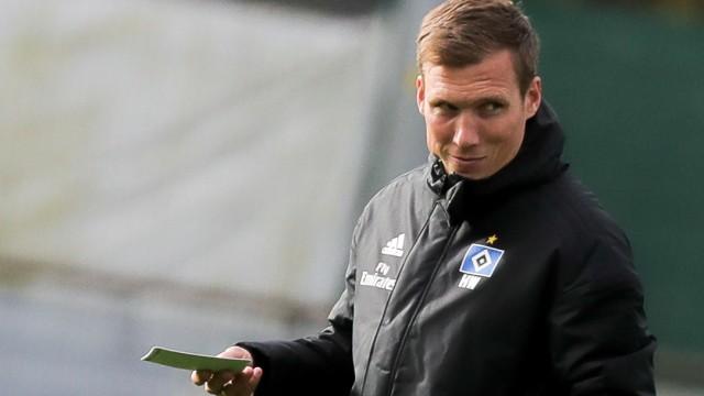 Training Hamburger SV mit neuem Trainer Wolf