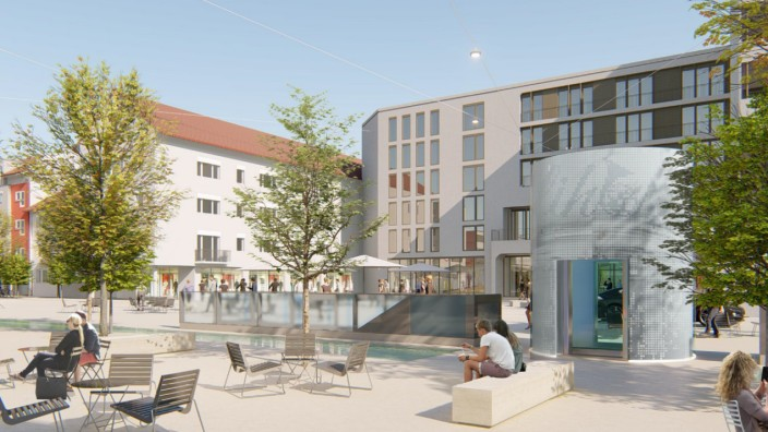 Simulationen Karl-Lederer-Platz Geretsried