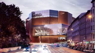 Gasteig: Entwurf des Architekturbüros Henn
