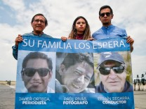 COLOMBIA-ECUADOR-KIDNAPPING-PRESS-REMAINS