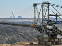 Braunkohleförderung im Lausitzer Revier