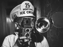 Weegee As Ice Cream Vendor
