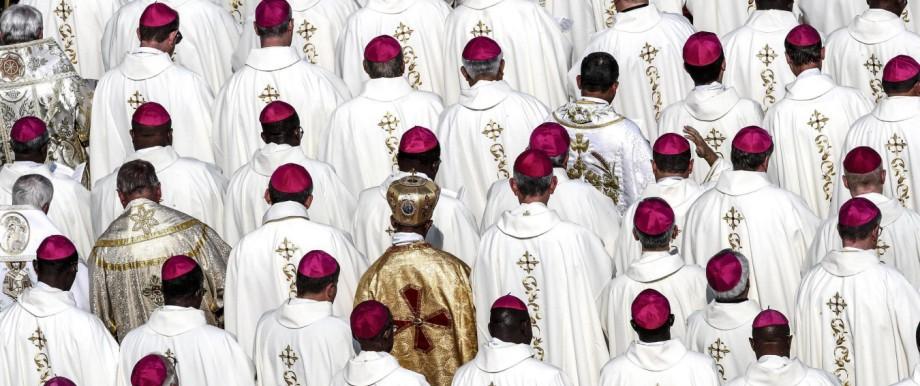 Glaube und Religion Bischofssynode in Rom