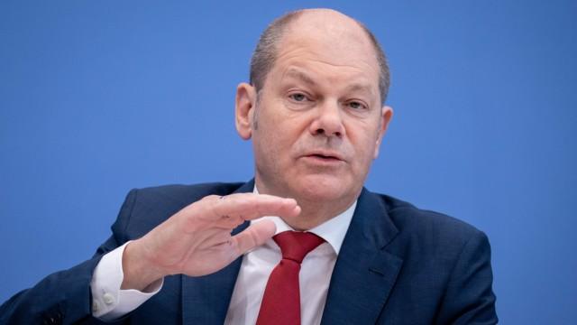 Olaf Scholz stellt Haushalt 2019 vor