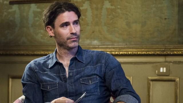 July 3 2018 Turin Piedmont Italy Turin Italy July 3 2018 The American writer Joshua Ferris