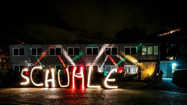 """Hochschule in München """"Münchner Lichtwoche"""""""
