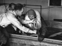 Kaltwasserversuch der Nazis im KZ Dachau
