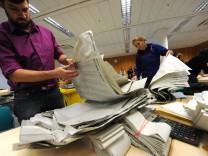 Nachzählung des Stimmkreises München Moosach nach der Landtagswahl