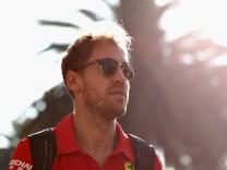 Sebastian Vettel vor dem Grand Prix in Mexiko 2018