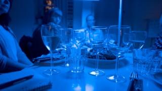 """Weinprobe bei der """"Lichtwoche"""" in München, 2017"""
